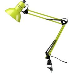 Crate and Barrel Architect Green Lamp