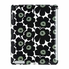 It wasn't until 46 years after Maija Isola's iconic Unikko poppies were born that the iPad hit the shelves, but luckily the timeless pattern is constantly transforming to fit today's technology.  Marimekko Unikko Black/White iPad Cover - $78