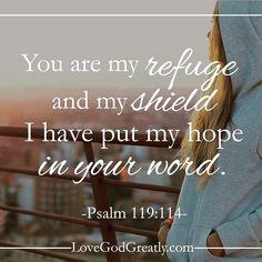 #rt #sabbathrest  Psalm 119:114 http://www.sdahymnal.net/