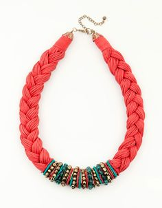 Bershka Romania - Braided necklace