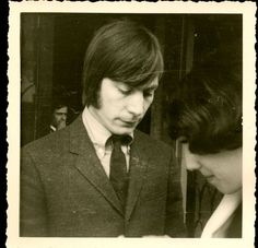 Charlie Watts, Paris 1965. Photo by teen autograph hound,Paul Bogaert.