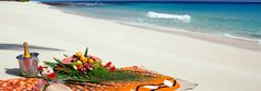 Beach picnics on remote beaches are included in the rate at Yasawa Island Resort. This looks amazing!!!