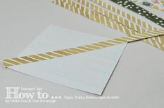 STAMPIN' UP! born2stamp How to... Chevron Technik
