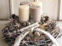 Adventskranz Deko weihnachtsdeko basteln adventskranz im naturlook deko kitchen