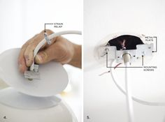 How to Safely Hardwire a Light- a great skill to learn!
