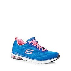 Skechers - Blue  Air Infinity  lace up trainers 51d34fa6fde