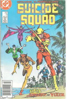 Suicide Squad DC Comics 11 Mar 1988 Speedy Vixen