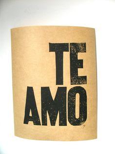 Palabras de Amor y de Aliento  Te Amo