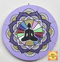Mandala Buda em Meditação