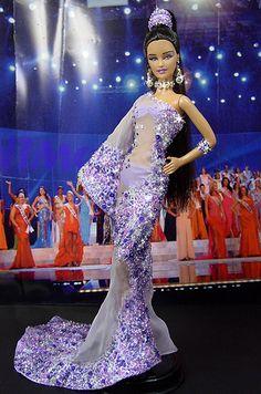 OOAK Barbie NiniMomo's Miss Guam 2009