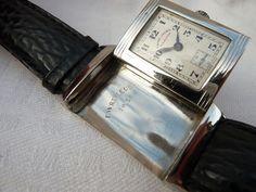Vintage Favre Leuba Sandow Reverso Gents Watch Jaeger LeCoultre NO RESERVE #FavreLeuba #Luxury