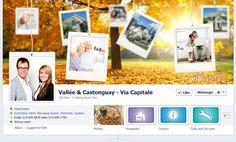 Facebook de Vallée & Castonguay. #ViaCapitale #courtier #Facebook