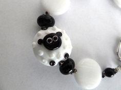 lampwork sheep bracelet £16.00 #folksyfriday