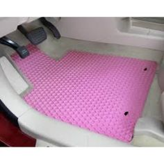 Pink Rubber Car Floor Mats - CarAccessories.com