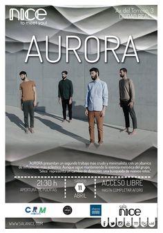 31Canciones presenta a AURORA en Sala Nice (Ciudad Real)