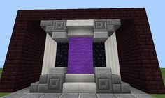 How do you handle your nether portals? : Minecraft