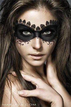 Make-up Maskenball