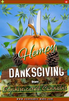 Wishing everyone a Hempy Danksgiving! 💚🍗🍝☕🍽