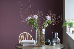 Salixgreiner kombinert med avskåren krysantemum