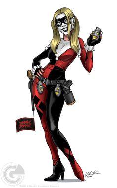 Harley Quinn by Garth Graham