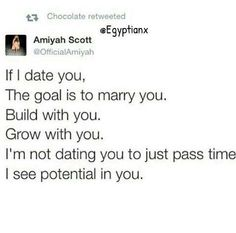 How I thought about dating. Some people enjoy the social aspect of dating, I was looking for a life partner.