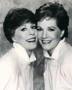 Julie Andrews is best friends with Carol Burnett?!?? Yet another reason I love them!!!