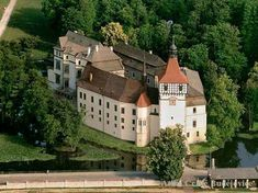 Zámek Blatná - Czech Republic (once part of the Kingdom of Bohemia; then of Austro-Hungarian Empire)