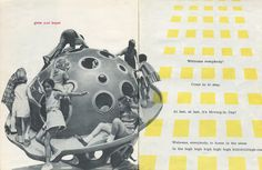 BAM ZAM BOOM! A Building Book by Eve Merriam (1972)