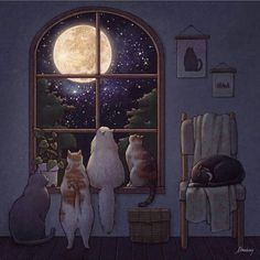 By – DM to submit art! – By – DM to submit art! Look At The Moon, Photo Images, Mushroom Art, Cat Drawing, Best Artist, Belle Photo, Cat Art, Art Inspo, Illustration Art