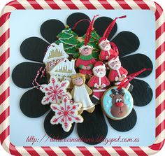 Galletas para Navidad Cookies, Christmas Ornaments, Holiday Decor, Cooking, Crack Crackers, Christmas Jewelry, Cookie Recipes, Christmas Baubles, Biscotti