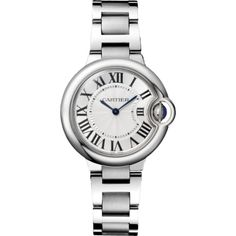 Ballon Bleu de Cartier watch Ballon Bleu de Cartier (305.830 RUB) ❤ liked on Polyvore featuring jewelry, watches, steel watches, fake jewelry, artificial jewellery, faux watches and imitation jewellery