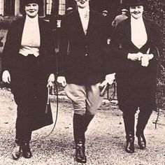 The Earl of Beauchamp's daughters, immortalized as part of the Marchmain family in Evelyn Waugh's Brideshead Revisted. Left to right: Lady Mary, Lady Sibell and Lady Dorothy Lygon. Photograph from Simon Blow's excellent book, 'Fields Elysian.'