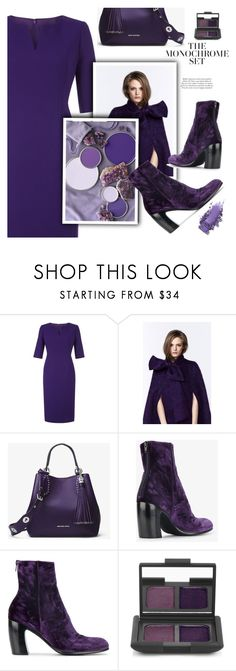 """Ultra Violet"" by divni ❤ liked on Polyvore featuring Hobbs, Plakinger, Ann Demeulemeester, NARS Cosmetics and ultraviolet"