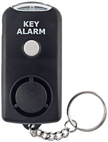 Do You Or Someone You Know, Need A Personal Alarm?  The small Keychain Alarm with Flashlight is perfect for college students, the handicapped, nursing homes, realtor women and for cities that don't allow citizens to carry pepper spray.