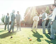 There's always time for croquet! Thanks #ReneeClancyPhotography for being on the scene.  . . . #windmillwinery #lawngames #winery #wedding #winerywedding #photography #croquet #lawngames #weddingphotography #arizona #pheonix #pheonixwedding #destinationwedding #AZWedding #WeddingVenue #Arizona #WindmillWinery