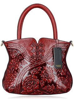 Pijushi Designer Cheongsam Flower Style Lady Tote Handle Handbag Womens Shoulder Bag for All Occasion