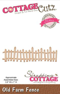 New Cottage Cutz dies now available at Crafts U Love http://www.craftsulove.co.uk/cottagecutz.htm