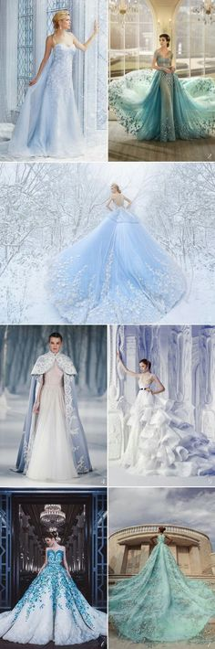 42 Fairy Tale Wedding Dresses For The Disney Princess Bride Some dreams are never forgotten, like the romantic vision of happily-ever-after you had since you were a little girl. You were probably watching your favorite princess in a Disney movie the first Quinceanera Dresses, Prom Dresses, Formal Dresses, Disney Dresses, Dress Prom, Diy Dress, Formal Prom, Disney Wedding Dresses, Elsa Dress