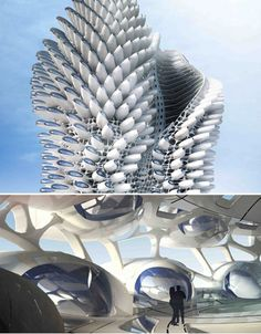 Spiral Architecture: 12 Swirling Building & Bridge Designs
