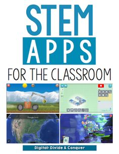 STEM is everywhere these days...YES!  If you're looking (and I hope you are) to add more STEM activities to you classroom, check out some of my favorite apps I use in the classroom.