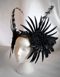 feather headpiece!