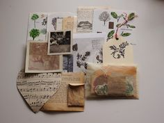 Save Trees - journal / scrapbook / letter kit Just updated my etsy shop. Come check it out for wonderful little things you can use for your journal and letter. Aesthetic Letters, Witch Aesthetic, Scrapbook Letters, Snail Mail Pen Pals, Pen Pal Letters, Nature Journal, Happy Mail, Tumblr, Letter Writing