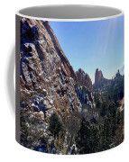 Virgin Snow Coffee Mug by Lynn Tolson
