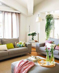 cómo decorar el salón con un soplo fresco de verano