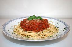 https://flic.kr/p/sqrrd5   41 - Spaghetti with bacon tomato sauce - Side view / Spaghetti mit Speck-Tomatensauce - Seitenansicht   [Rezept / Recipe]
