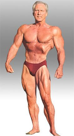 The Amazing Frank Zane at 64 Years of Age - Can a Picture Change Your Life? I certainly think so!