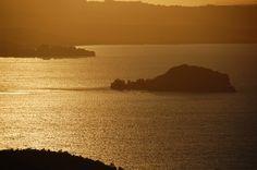Tramonto sull'Isola Bisentina