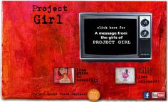 Youth Empowerment, Teen Activism, Social Action, Girl-led Art-Based - Project Girl