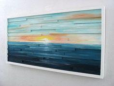 Море внутри / декор стен
