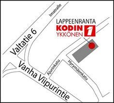 Kodin, Family Center, Lappeenranta. Hyrymäenkatu 2, 53100 LAPPEENRANTA. Puh. 01053 46000. Aukioloajat: ma-pe 10-21, la 10-18, su 12-18 (poikkeukset mahdollisia). Symbols, Letters, Icons, Letter, Calligraphy